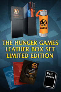 THE HUNGER GAMES LEATHER BOX SET LIMITED EDITION ขายตามสภาพ
